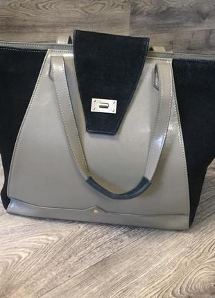 Кожаная сумка pascal morabito