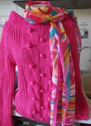 #акция 1+1=3 #be beau#стильный розовый свитер с шерстью #свитшот #