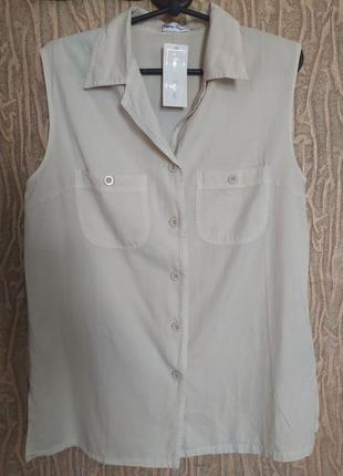 Блузка рубашка кофта сорочка безрукавка