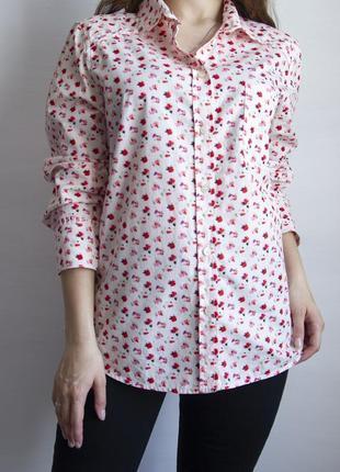 Восхитительная рубашка от luella с цветочным принтом watercolors