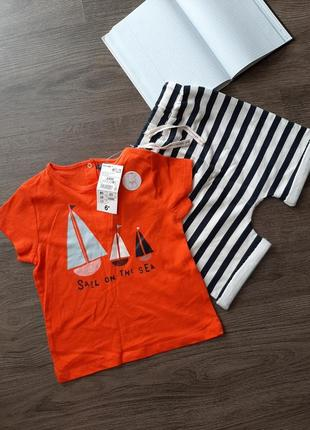 Комплект шорти і футболка kiabi