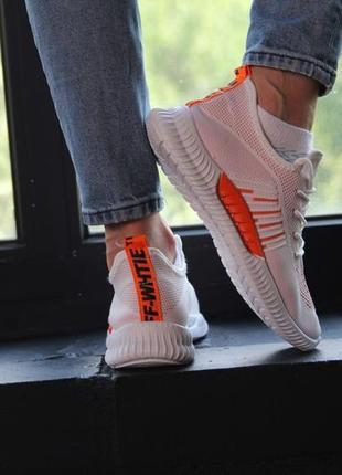 Кроссовки с оранжевыми вставками, кеды, мокасины, кроссовки 36-41
