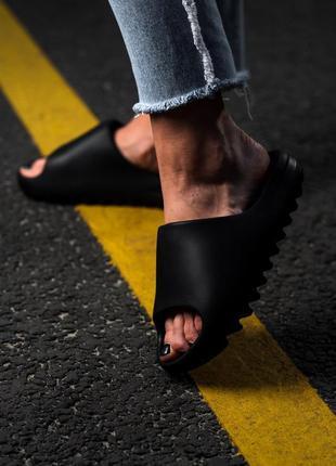Шлепанцы adidas yeezy slide bone шльопанці шльопки шлепки сланцы сланці