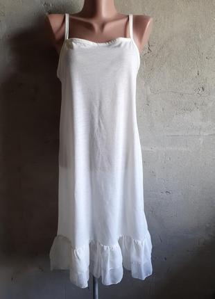 Платье летнее на бретелях. сарафан