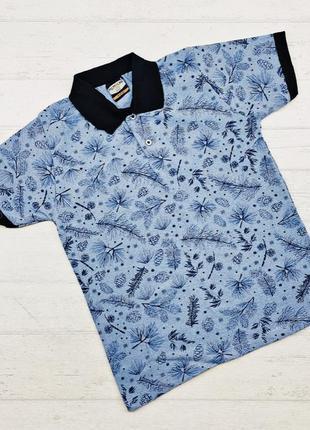 Супер красивая футболка поло для мальчика! размер 9-12 лет!