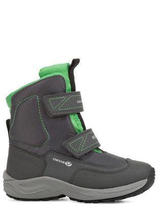 Geox new alaska оригинал теплые зимние ботинки waterprof