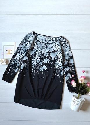 Красива блуза в квітковий прінт tu