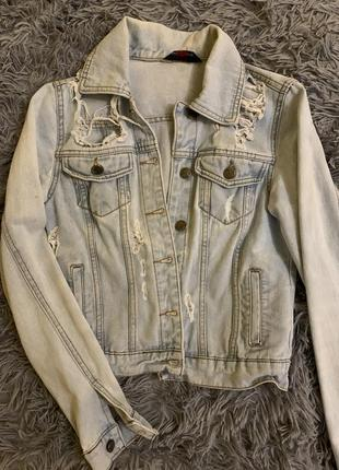 Джинсова курточка / куртка джинсова