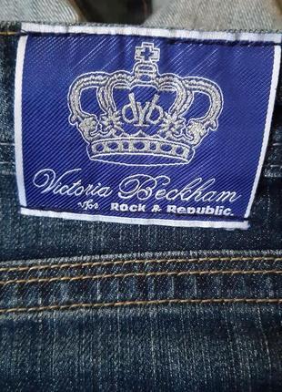 Юбка джинсовая victoria beckham