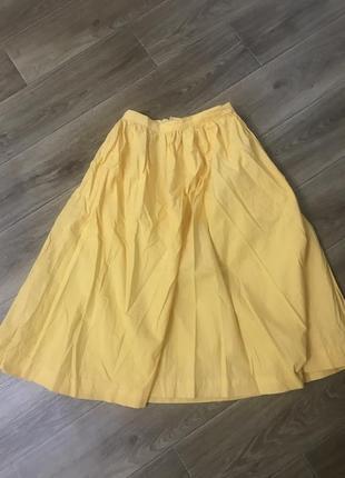 Юбка клёш ,юбка солнце ,юбка с карманами