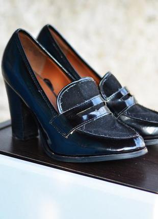 Туфли лоферы на каблуке, atmosphere , 39 р.