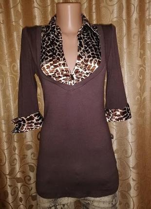 🎀🎀🎀красивая женская трикотажная кофта, джемпер, блузка new look🔥🔥🔥