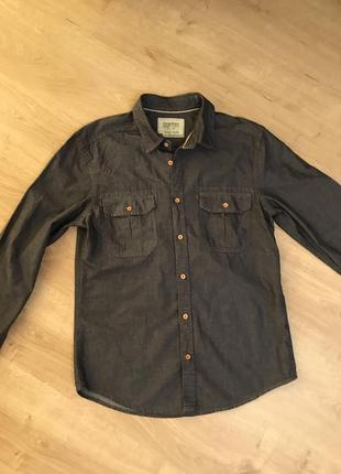 Рубашка мужская коттон