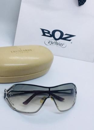 Trussardi натур стразы swarovski оригинал очки купила в италии в фирменном магазине