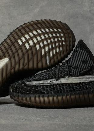 Кроссовки женские 17565 ► adidas yeezy, черные