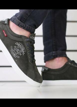 Спортивные туфли нат.нубук