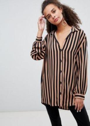 Невероятная котоновая рубашка bershka