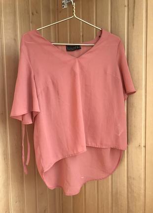 Блуза рожева