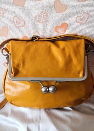 Мега стильная и красивая кожаная сумка stick sand stones👍👍😊👜👜👜💥
