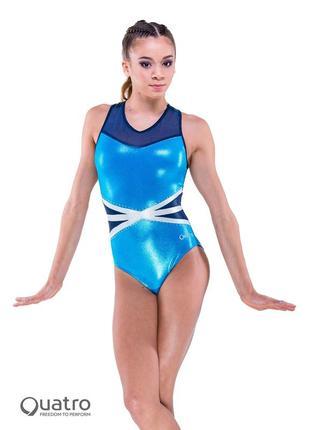 Очень красивый  купальник для гимнастики или танцев quatro