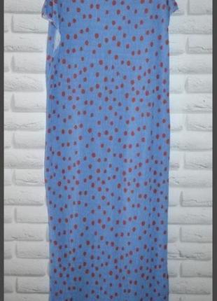 Платье zara горох