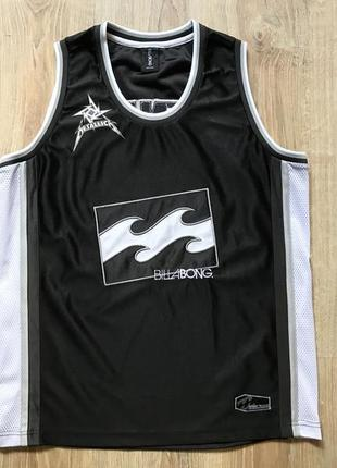 Мужская коллекционная майка billabong metallica robert trujillo limited edition jersey