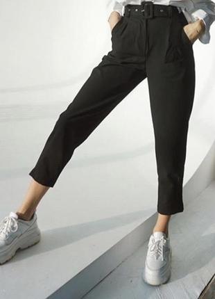 Нові класичні чорні штани / брюки😍
