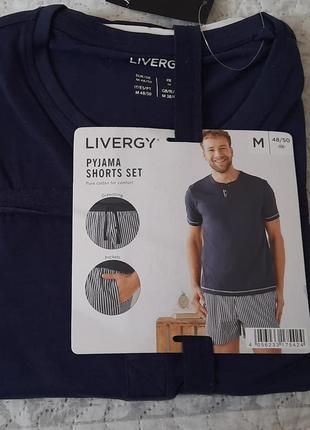 Мужская пижама livergy размер м