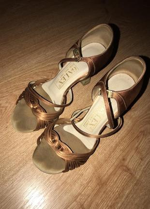 Туфли латина galex для танцев