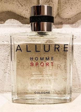 Chanel allure homme sport cologne, 100 мл, франция