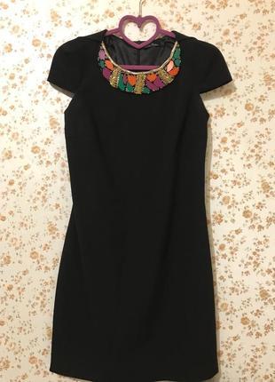 Платье с декором кира пластинина