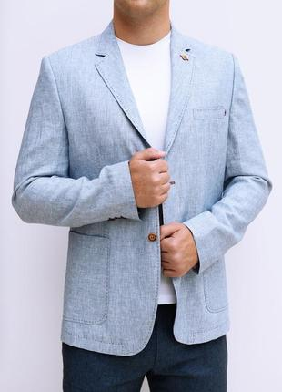 Пиджак 100% лён