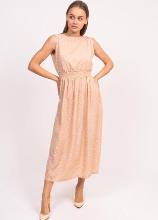 Довге ніжне плаття , сарафан