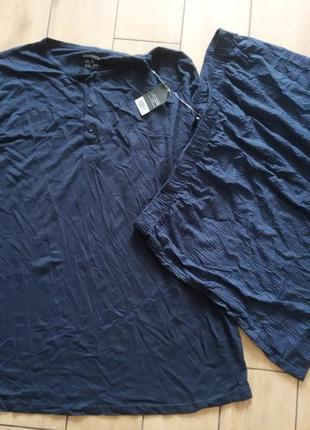 Новый мужской домашний костюм или пижама livergy, батал, р.xxxl, евро 64/66