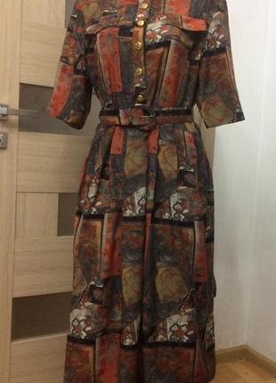 Vivienne lawrence стильное винтажнле платье