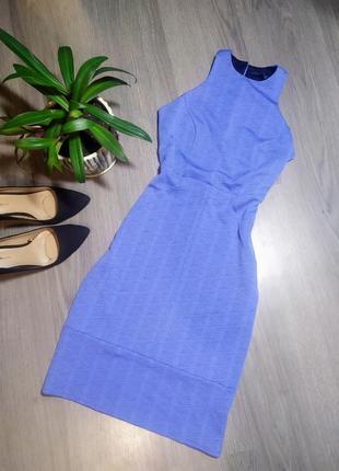 Красивое голубое платье xs,s