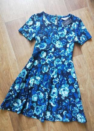 🔥распродажа! платье в цветы, сукня, сарафан, плаття