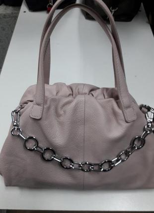 Женская кожаная сумка,  сумка  натуральная кожа