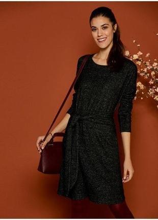 Шикарное мягусенокое , комфортное платье esmara германия размер евро l 44/46