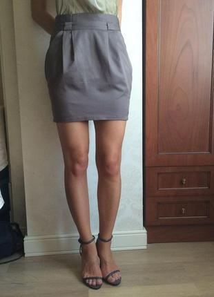 Юбка vero moda с высокой талией