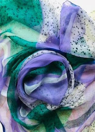 Красивый легкий платок