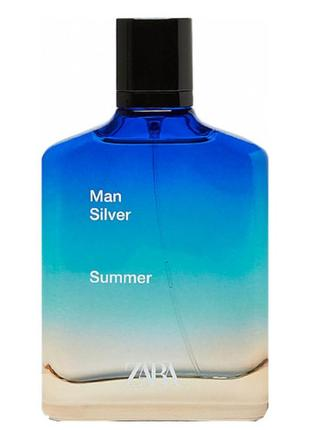 Zara man silver summer 100 мл