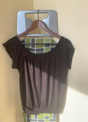 Летняя кофта с открытыми плечами
