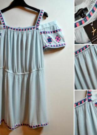 Пляжное платье/ сарафан/ вискоза atmosphere.