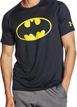 Футболка новая коллекция under armour ®men's alter ego core batman
