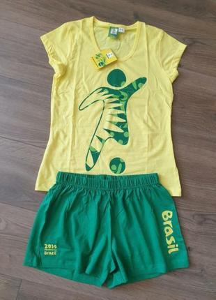 Esmara спортивный набор шорты и футболка комплект xs 32/34.