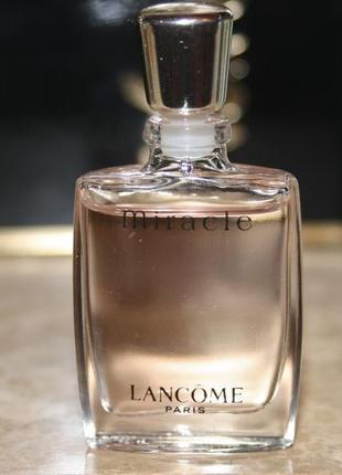 Винтаж  miracle lancome 5мл парф вода