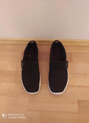 Мокасины, кроссовки на липучках kappa