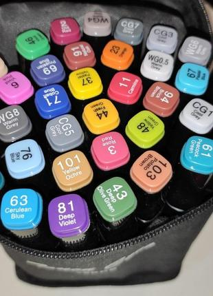 Скетч маркеры скетч маркеры touch sketchmarker двусторонние для бумаги набор 36 шт