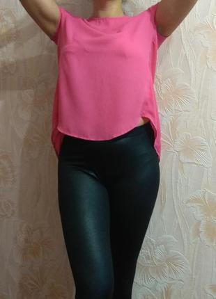 Красивая яркая летняя блуза terranova р. 42-44